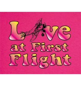 LOVE AT FIRST FLIGHT Ladies Shirt
