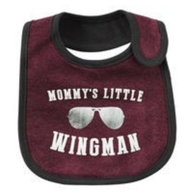 Wingman Reversible Teething Bib