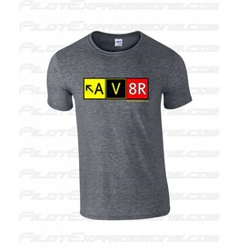 AV8R T-Shirt (Dark Heather Gray)