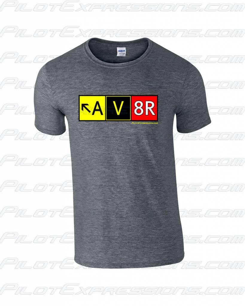 AV8R T-Shirt (Dark Heather Gray)