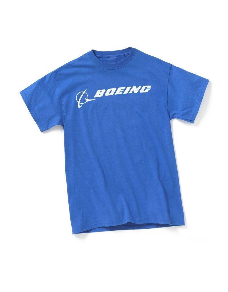 Boeing Signature Logo T-Shirt (Royal Blue)