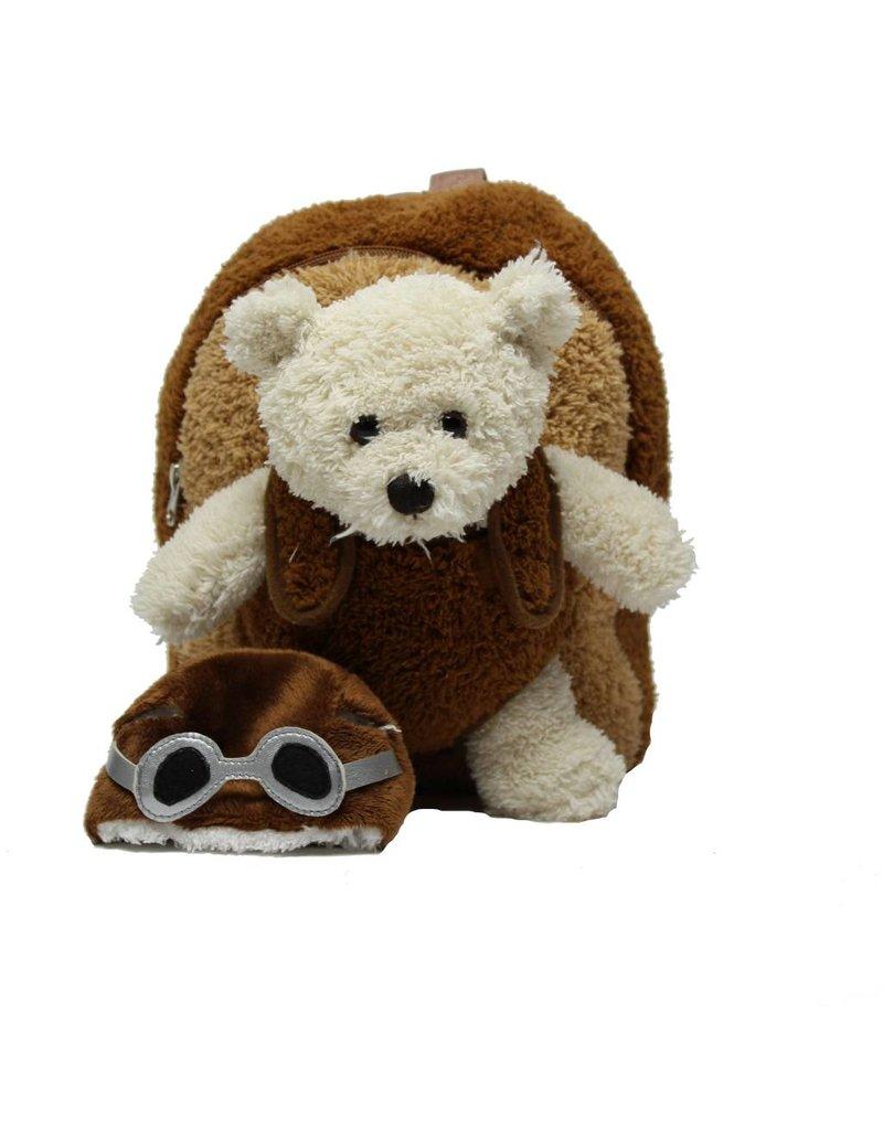 Aviator Bear Backpack