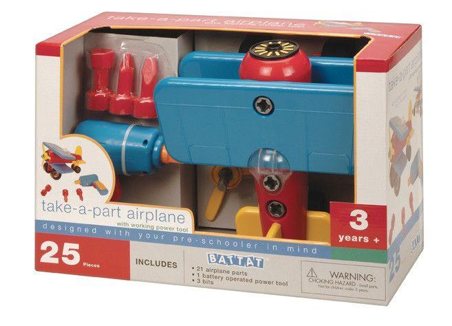 Take-Apart Airplane Toy