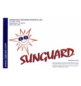 SUNGUARD SLAP-ON SUN VISOR, LARGE