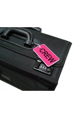 CREW Tag, Gelflex Double Sided PINK