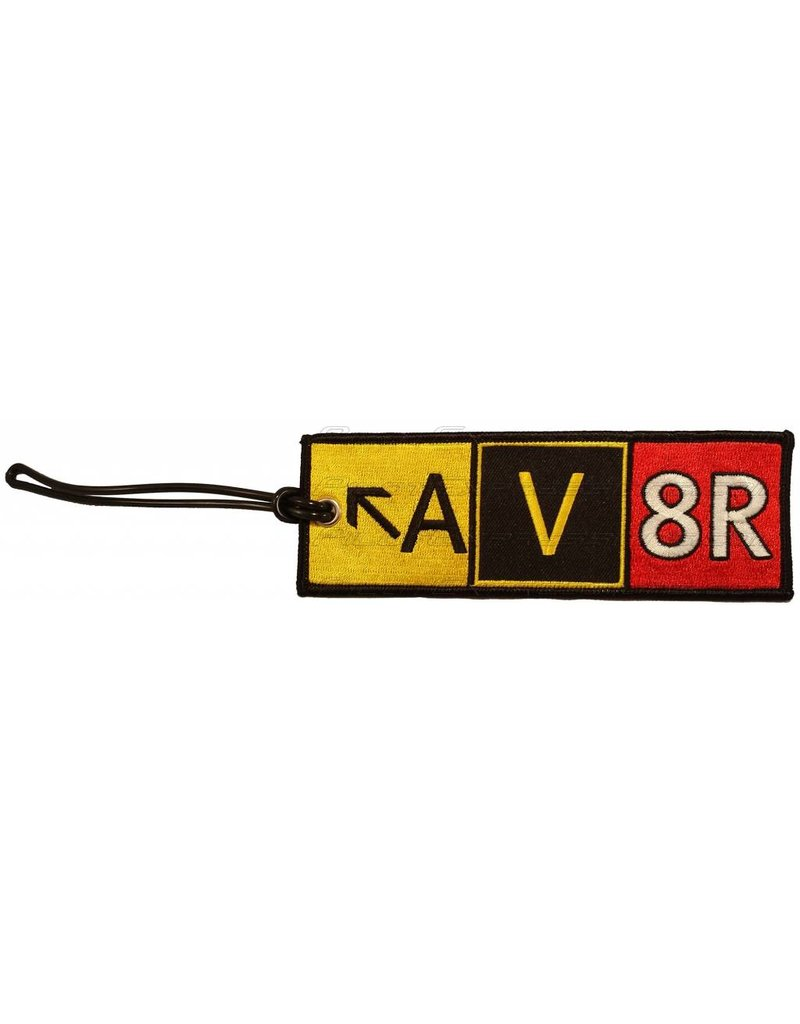 AV8R CREW Tag, Embroidered