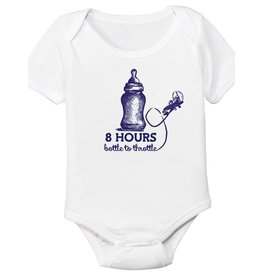 8 HOUR BOTTLE TO THROTTLE Onesie