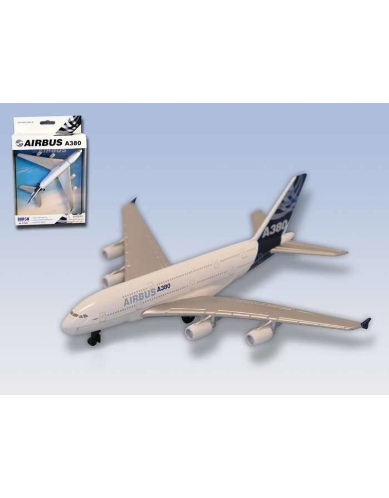 AIRBUS A380-800 TOY MODEL AIRPLANE