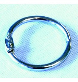 "METAL 1"" HINGED SNAP RING"