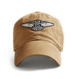 RED CANOE US AIR SERVICE CAP - Tan