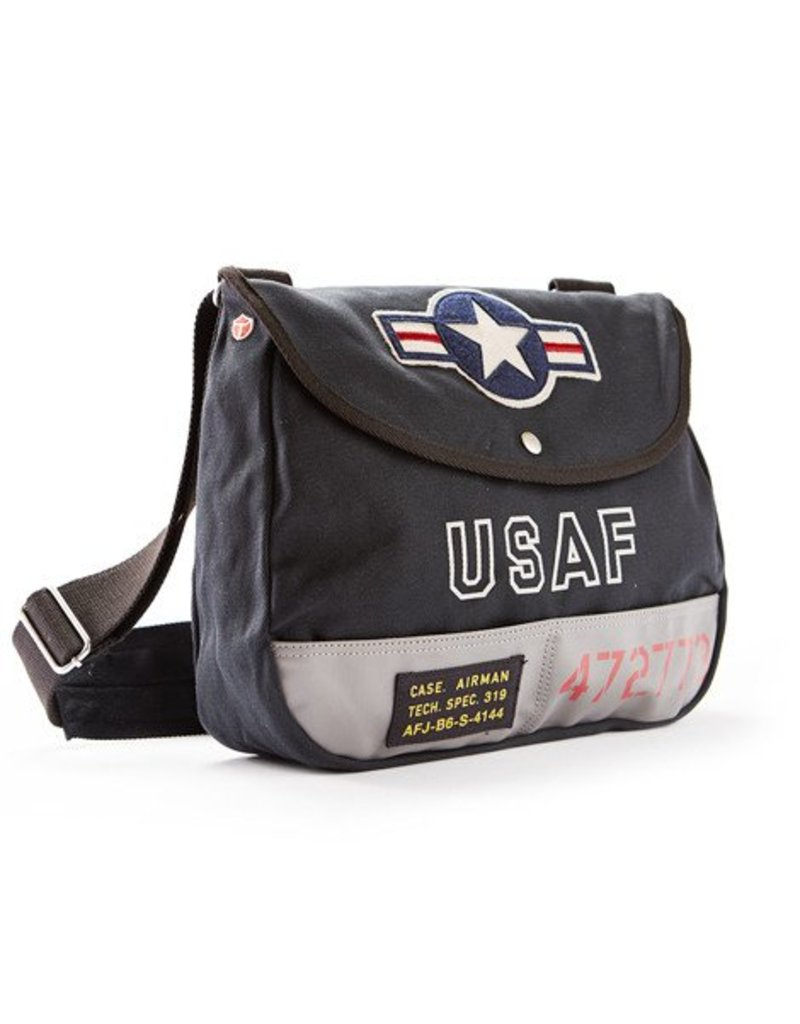 RED CANOE USAF Shoulder Bag - Navy