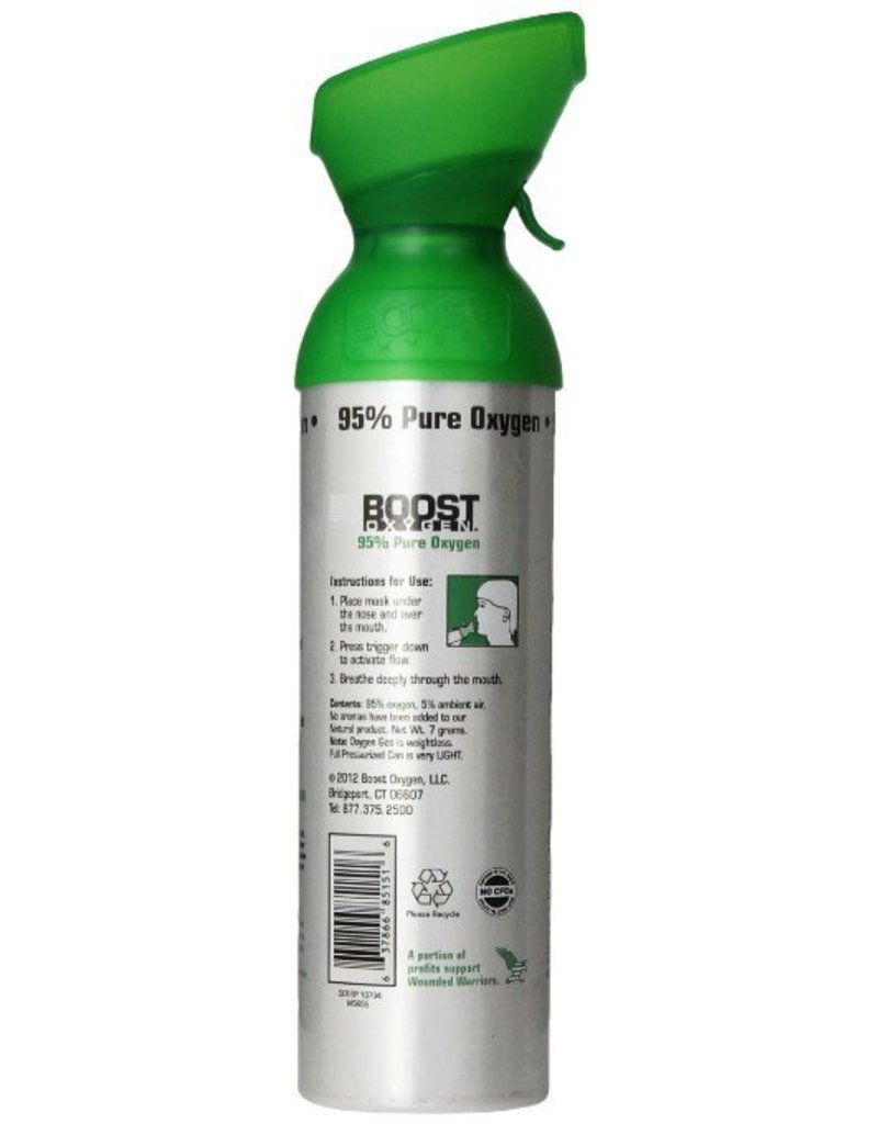 BOOST OXYGEN Natural Energy in a Can, 22 Ounce