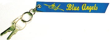 BLUE ANGELS Ribbon Keychain