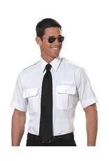 PILOT, SS TAPERED, MENS WHITE SHIRT