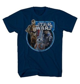 Stars Wars Tri Bot Ring Boys T-Shirt