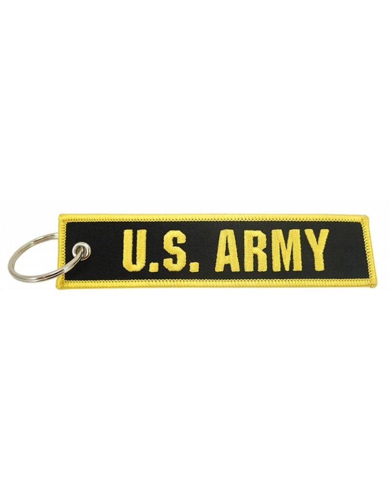 """U.S. ARMY"" EMBROIDERED KEYCHAIN"