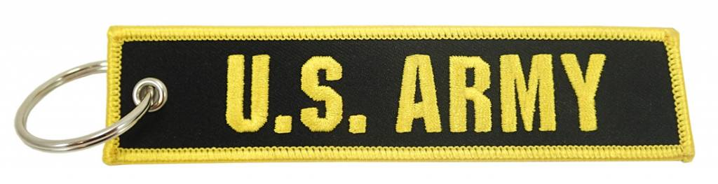 """U.S. ARMY"" EMBROIDERED KEYCHAIN"