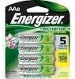 Energizer Power Plus Rechargeable AA Batteries (Precharged), 8 Count
