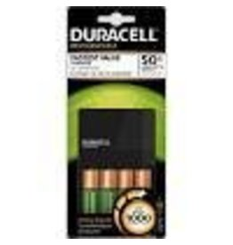 Duracell Rechargeable Ion Speed 1000 Charger, 2 AA