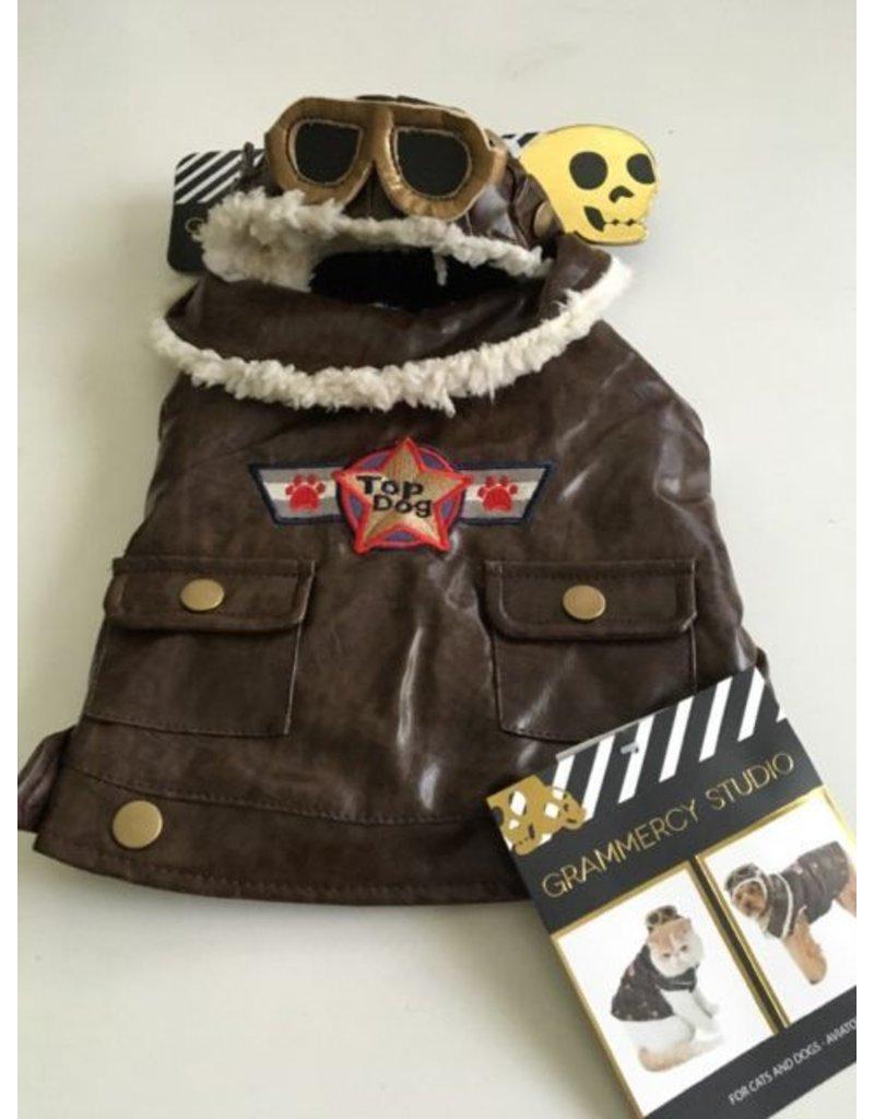 Aviator Top Dog Costume