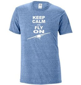 KEEP CALM AND FLY ON SHIRT