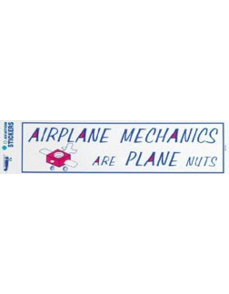 AIRPLANE MECHANICS Sticker