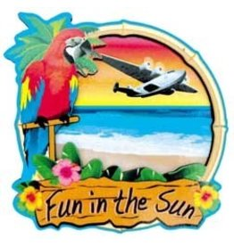 FUN IN THE SUN 3D Magnet