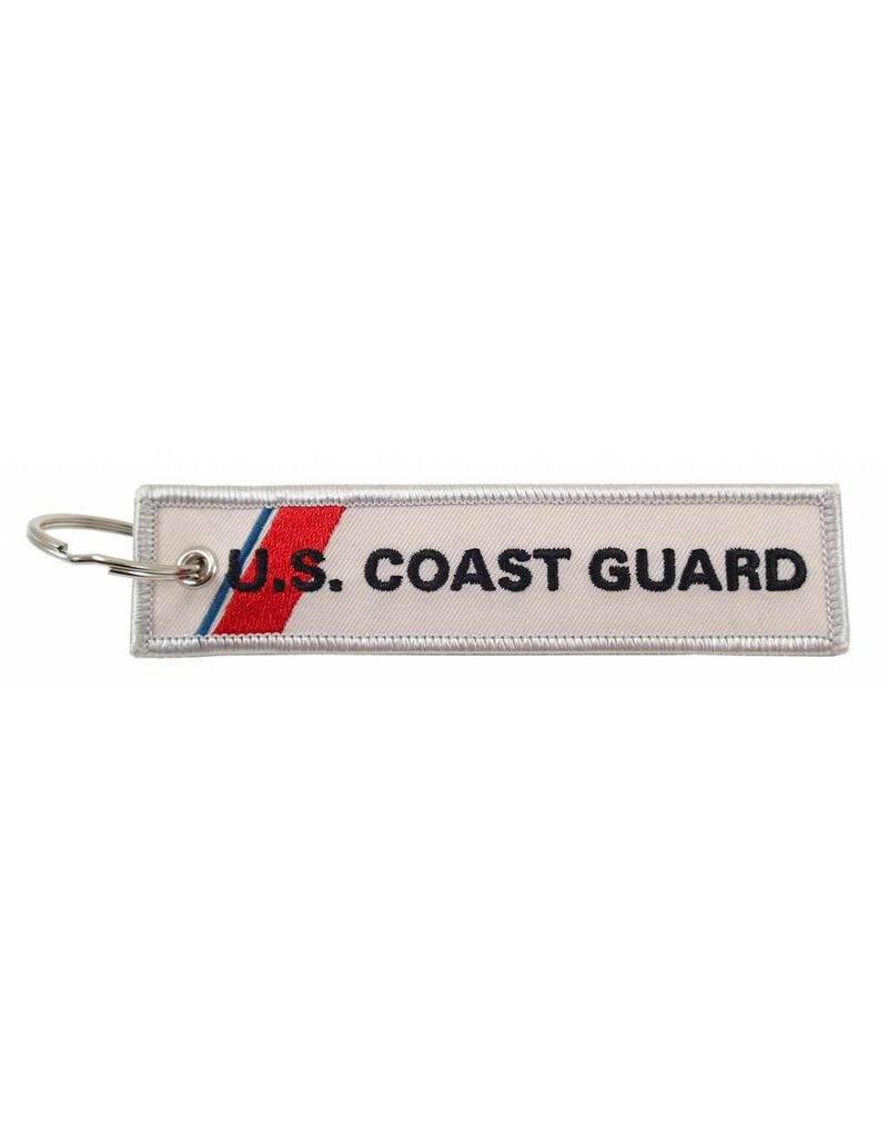 U.S. Coast Guard EMBROIDERED KEYCHAIN