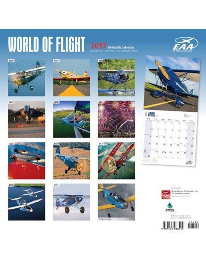 EAA WORLD OF FLIGHT 2017 18- MONTH CALENDAR