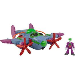 DC Super Friends Imaginext The Joker Plane Figure Set