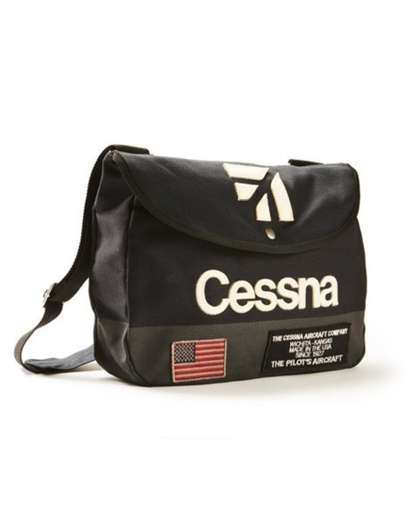 RED CANOE CESSNA SHOULDER BAG (Navy)