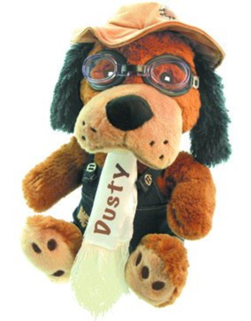 DUSTY DOG Stuffed Aviator