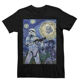 Star Wars Storm Trooper Starry Night T-Shirt