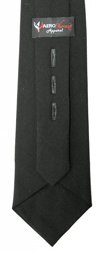 Tie, Black XL, Polyester / Wool Blend (Blue)