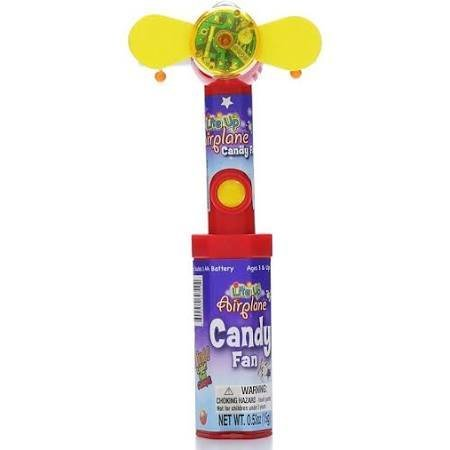 Candy Rific Lite Up Cool Pop, Airplane - 0.53 oz bottle