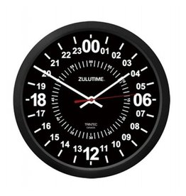 TRINTEC ZULU 24 HOUR CLOCK/BLACK 10