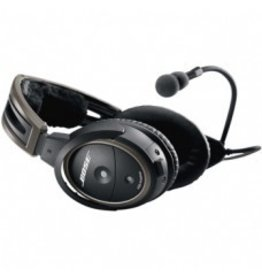 BOSE Bose® A20® Headset / No Bluetooth, battery powered, electret microphone, twin plug, straight cord