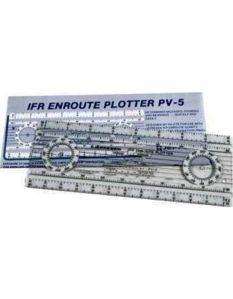 JEPPESEN JEPPESEN IFR ENROUTE FOLDING PLOTTER PV-5