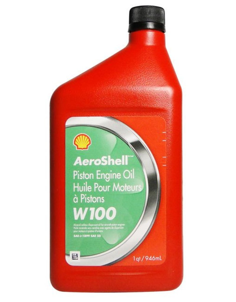 Aeroshell Aviation Oil W100 per quart