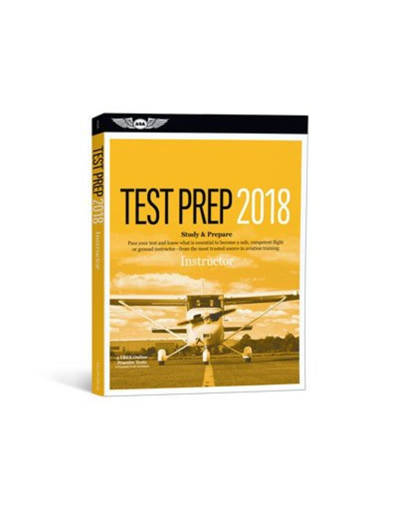 ASA ASA Instructor Test Prep 2018