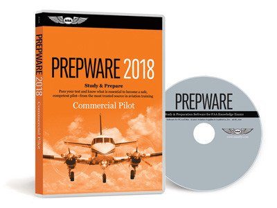 ASA Commercial Pilot Prepware 2018 Software DVD