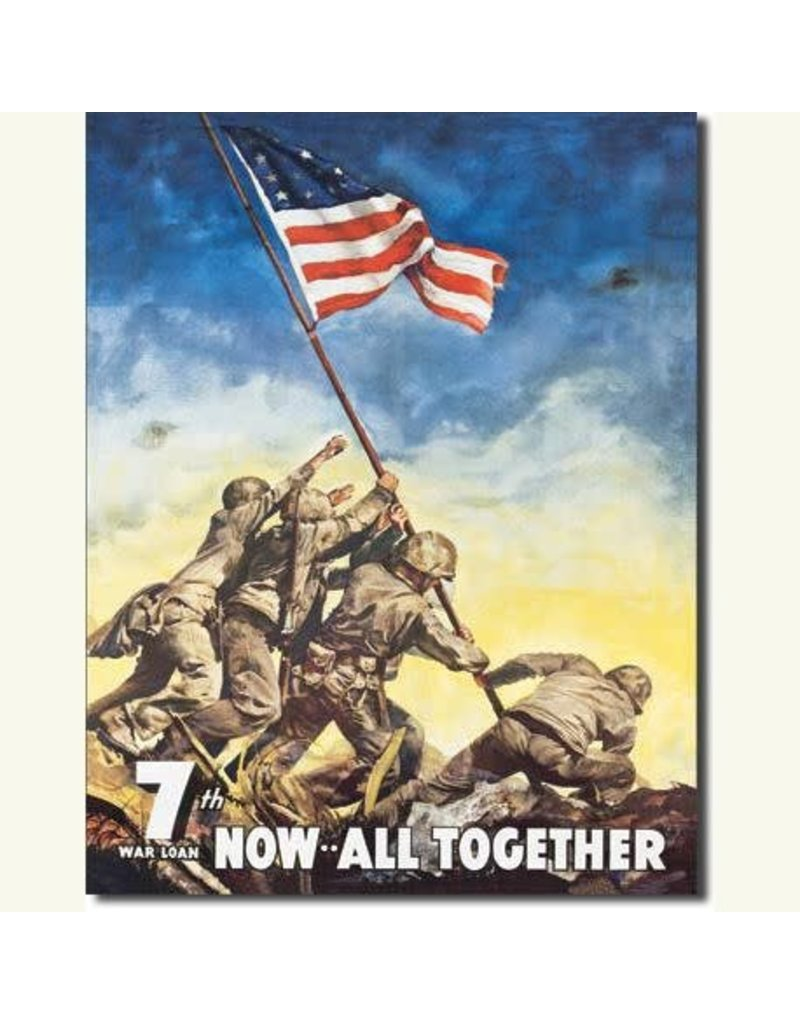 ALL TOGETHER TIN SIGN