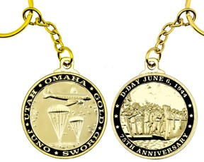 D-DAY Commemorative Key Chain