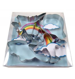 AVIATION COOKIE CUTTER SET, 5-PIECE