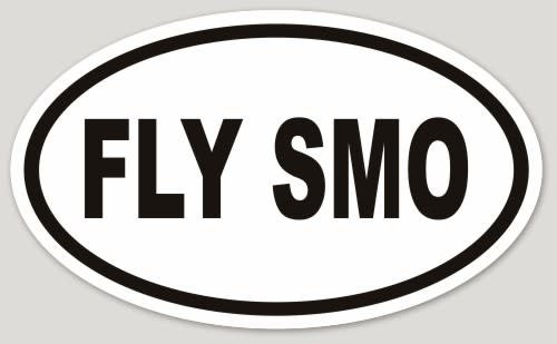 FLY SMO OVAL STICKER