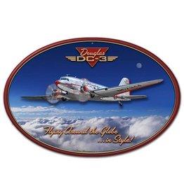 DOUGLAS DC-3 3D Sign