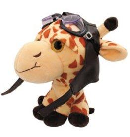 GIRAFFE Stuffed Aviator
