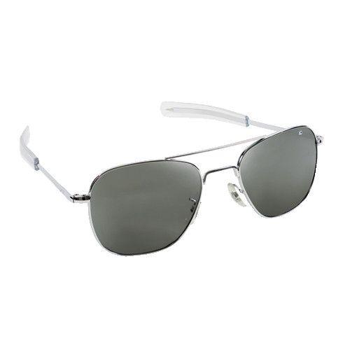 AO Eyewear Original Pilot Silver Sunglasses