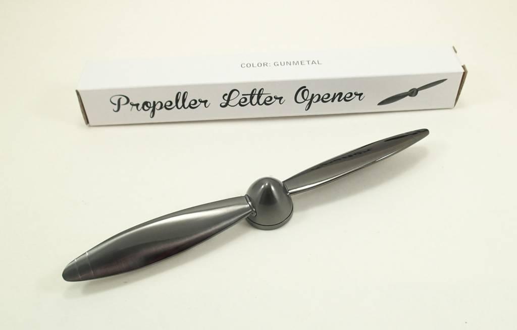 PROPELLER LETTER OPENER GUNMETAL