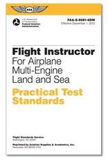 ASA Practical Test Standards: CFI - Multi-Engine